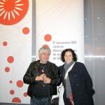 Anabella Rondina, jurado bid_est y Fernando Martínez  Agustoni, Universidad  de la República /  Uruguay