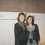 Lucinda Morrisey, diseñadora gráfica y profesora de la Universidad Europea de Madrid y Gloria Escribano, coordinadora del 5º Encuentro BID.