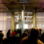 Los visitantes se reúnen para la celebración del 5º Encuentro BID