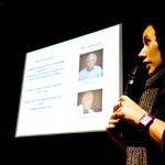 Anabella Rondina, jurado del 5º Encuentro BID, profesora de la UBA,  Facultad de Arquitectura  y Diseño. Buenos Aires, Argentina, y gerente operativa del Centro Metropolitano de Diseño (CMD) de Buenos Aires, dio la conferencia inaugural.