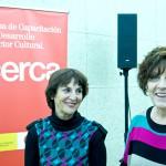 Clara Ballesteros _AECID y Concha Moreno, gerente de DIMAD