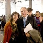 Javier Aguado y Gloria Escribano, coordinadora del 5º Encuentro BID